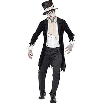 Zombie Groom Wedding mens Halloween costume