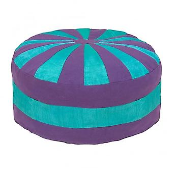 Boutique Camping Harlequin Pouf