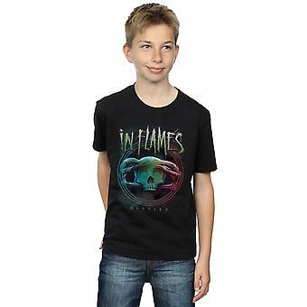In Flames Boys Battles Circle T-Shirt