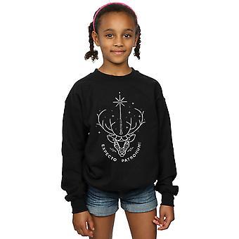 Harry Potter Girls Expecto Patronum Charm Sweatshirt