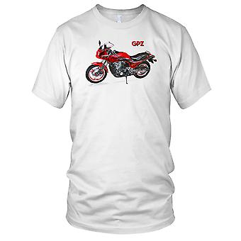 Kawasaki GPz1100 klasyczny motocykl Biker męska koszulka