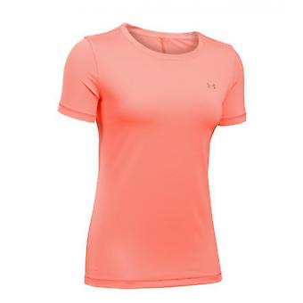 Under Armour HeatGear T-Shirt ladies orange 1285637-404