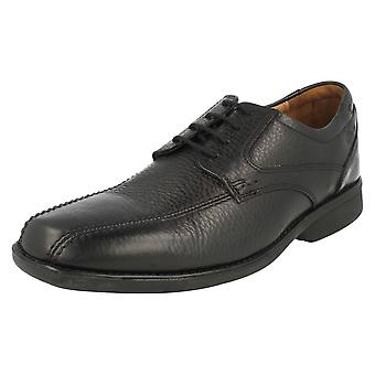 Mens Clarks Formal Lace Up Shoes Foot Soft