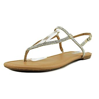 INC International Concepts Womens Macawi2 Fabric Split Toe Casual T-Strap San...