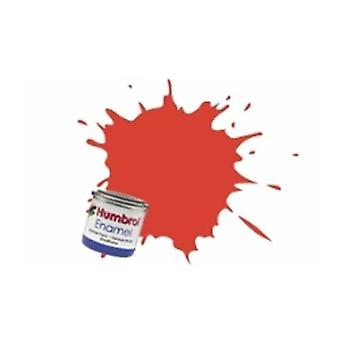 Humbrol Enamel Paint 14ML No 174 Signal Red - Satin