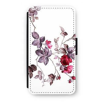 Samsung Galaxy S6 Edge Flip Case - mooie bloemen