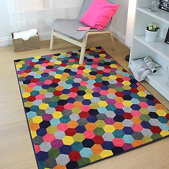 Rugs - Hexagon - Multi