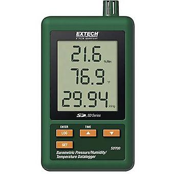 Multi-channel data logger Extech SD700 Unit of measurement Temperature, Air pressure, Humidity 0 up to +50 °C 10 up to 9