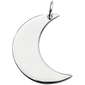 Beginnings Moon Pendant - Silver