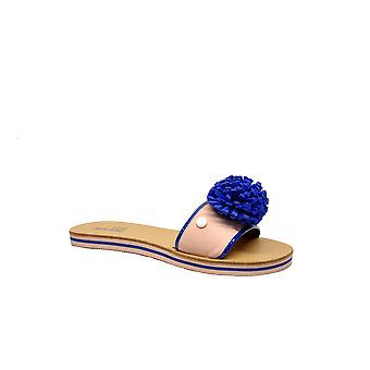 Love Moschino ladies JA28012G15D160A pink leather sandals