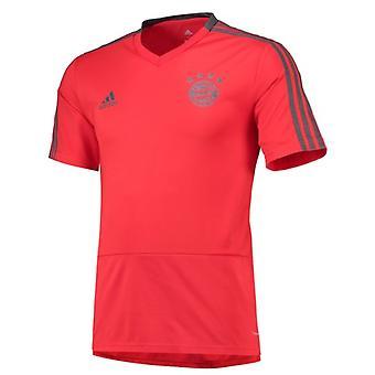 2018-2019 Bayern Munich Adidas Training Shirt (Red) - Kids