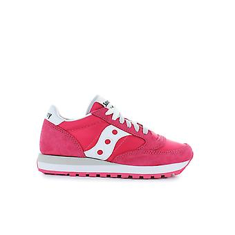 SAUCONY ORIGINALS JAZZ WHITE/RED SNEAKER