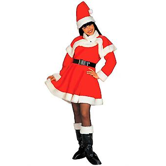 Lady Santa Deluxe kostume