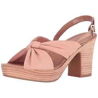 Kenneth Cole reaktion Womens Tole monter läder öppen tå Casual Slingback San...