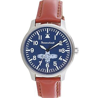 Aristo Messerschmitt men's Boxer watch ME BOXER2 leather