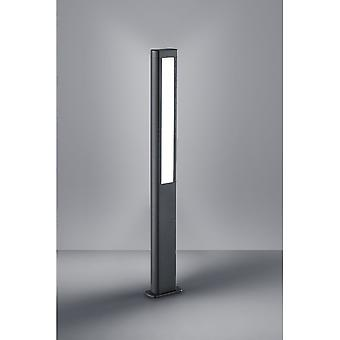 Trio Beleuchtung Rhein moderne anthrazit Aluminium Druckguss Pole