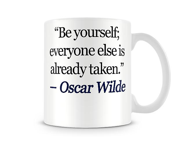Quote 2 Printed Mug