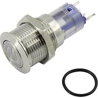 TRU COMPONENTS LAS2GQF-11ZDT/W/12V/S/P Pushbutton switch 48 Vdc 2 A 1 x On/On IP65 latch 1 pc(s)