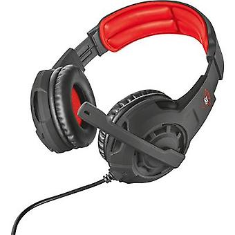 Trust GXT 310 Gaming headset 3.5 mm jack Corded, Stereo Over-the-ear Black, Red