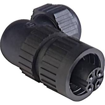 Hirschmann 934 129-100 CA 3 W LD Connector For Mains Voltage CA-series, Angulated Nominal current (details): 16 A/AC/10 A/DC Number of pins: 3 + PE