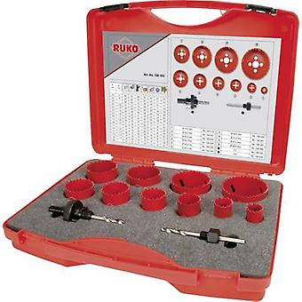 RUKO 106303 Hole saw set 12-piece 1 Set