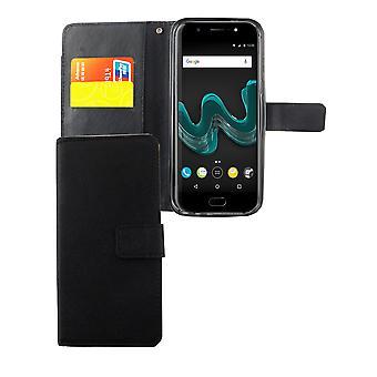 Mobiele telefoon geval zakje voor mobiele WIKO Wim black