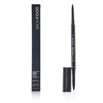 Lashfood BrowFood Ultra Fine pande blyant Duo - # Brunette - 0.10g/0.0035oz