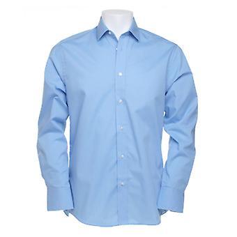 Kustom Kit Long Sleeve Business Shirt-KK131