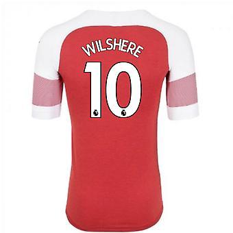 2018-2019 Arsenal Puma Home Football Shirt (Wilshere 10)