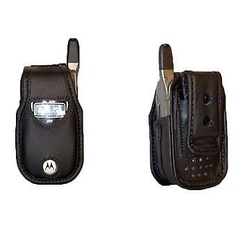 Etui souple en cuir avec Clip de ceinture pivotant AWedge (noir)