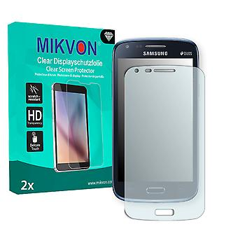 Samsung I8262 Galaxy Core Duos Screen Protector - Mikvon Clear (Retail Package with accessories)