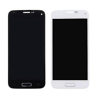 Roba certificata® AAA Mini Display (LCD + Touch Screen + parti) di Samsung Galaxy S5 + qualità - blu / bianco