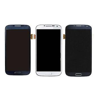 Roba Certified® Samsung I9500 Galaxy S4 schermo (Touchscreen + LCD + parti) AAA + qualità - blu / nero / bianco