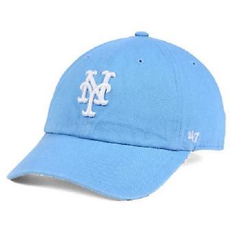 ニューヨーク メッツ大リーグ 47 ブランド パウダー ブルー調節可能な帽子