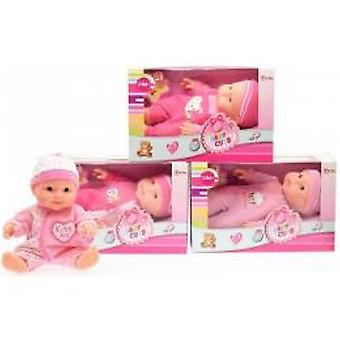 Toi Toys Babypop roze 22,5cm in doos