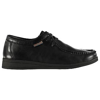 Ben Sherman Mens Quad Wallabee Shoes Lace Up Moccasin Style Toe Box Leather