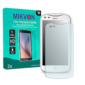 Acer Liquid E2 Duo Screen Protector - Mikvon Clear (Retail Package with accessories)