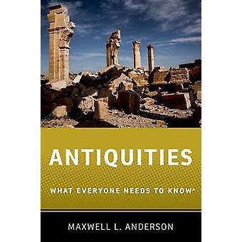 Altertümer von Maxwell L. Anderson - 9780190614935 Buch