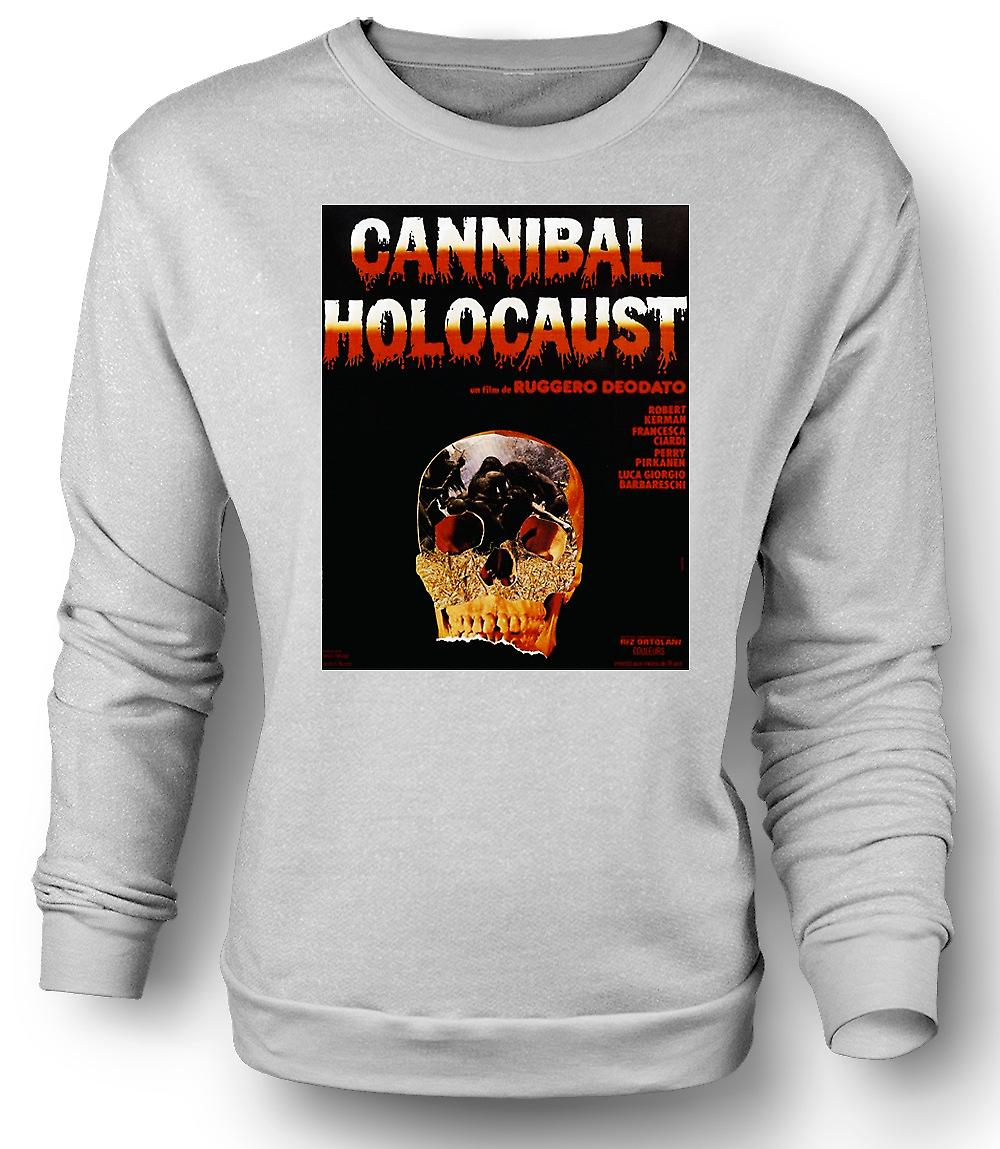 Mens Sweatshirt Cannibal Holocaust - Horror - Poster