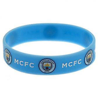 Manchester City FC officiële siliconen armband