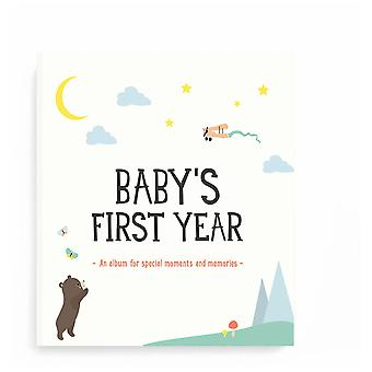Milestone Baby's First Year Album