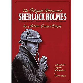 Original Illustrated Sherlock Holmes: 37 Short Stories and a Novel from the  Strand Magazine