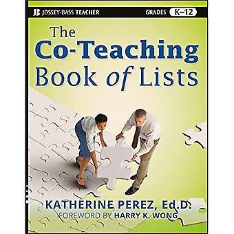 Le livre de co-enseignement des listes