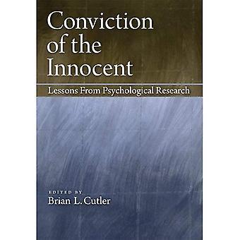 Überzeugung der unschuldigen: Lehren aus der psychologischen Forschung