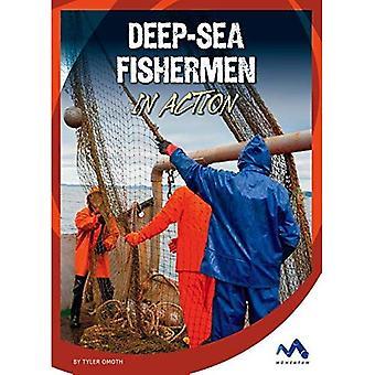 Deep-Sea Fishermen in Action (Dangerous Jobs in Action)