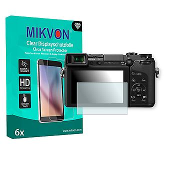 Panasonic Lumix DMC-GX7K Screen Protector - Mikvon Clear (Retail Package with accessories)