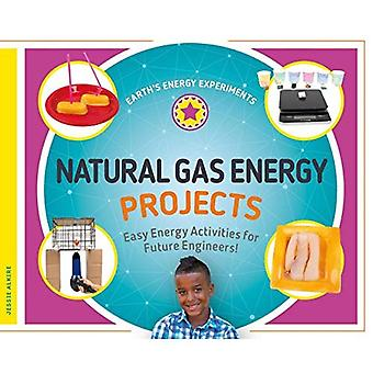 Natural Gas Energy Projects: Easy Energy Activities for Future Engineers! (Earth's Energy Experiments)
