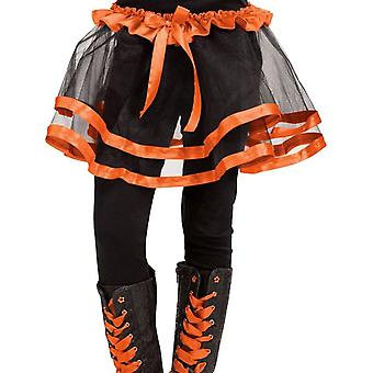 Ribbon Tutu Child Orange