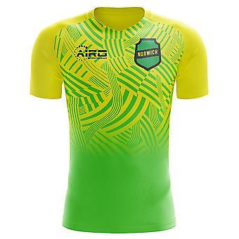 2019-2020 Norwich Home Concept Football Shirt - Little Boys