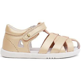 Bobux I-walk Girls Tropicana Quick Dry Sandals Gold